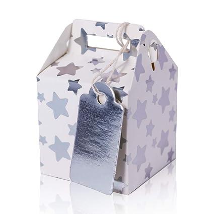 132102 - Pack de 24 mini cajitas de regalo cumpleaños con ...