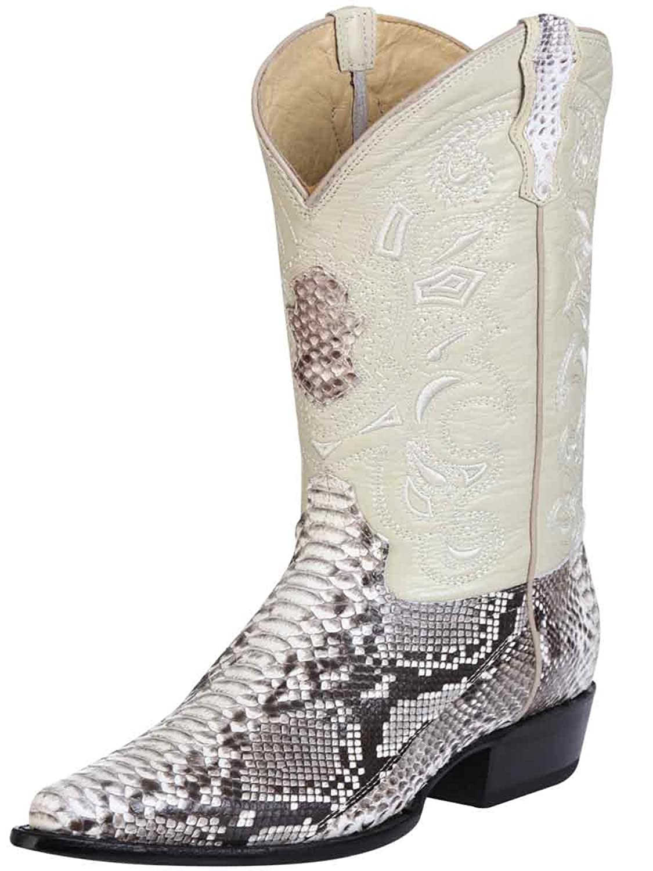Bota Vaquera Exótico/a ID 32990 El General(BE) Piel Python Garment Natural