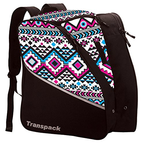 Transpack Edge Junior Ski Boot Bag (White - Boots Ski Nylon
