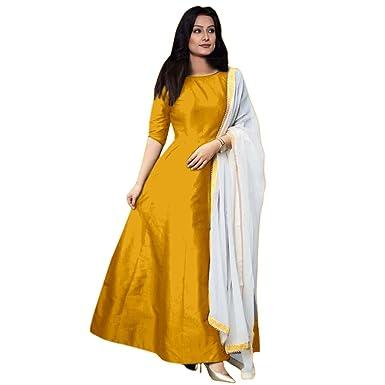 Nice yellow colour dress