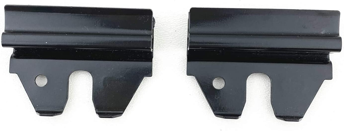 Power /& Manual NAGD Auto Glass Channel Clips Compatible with 1996-2019 Chevrolet Express GMC Savana Front Door Window Glass
