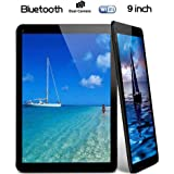 "Tiptiper N98 9 ""Android Tablet PC Quad Core 1GB + 16GB WiFi + Keyboard Case Bundle EU Negro"