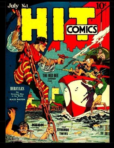 Download Hit Comics #1: Classic Golden Age Adventure Comic With Popular Lou Fine Art! pdf epub