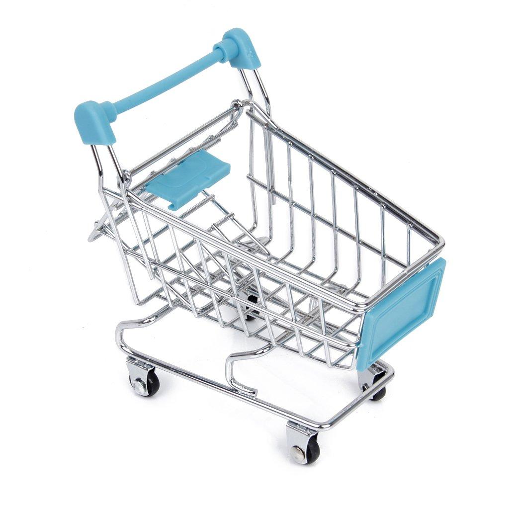 1 x Mini Shopping Cart for Bird Intelligence Training Random One Generic