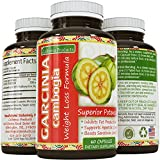 Pure 95% HCA Garcinia Cambogia Extract- Most Potent Natural Appetite Suppressant & Weight Loss Supplement - Infused with Potassium & Calcium - Perfect for Women and Men - GMP Certified & Made in the USA - Guaranteed by California Products