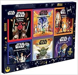 Star Wars Coffret 12 Livres D Histoires Et Jeux