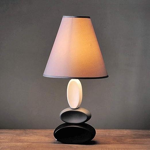 XHMK Nordic Cerámica dormitorio Mesita de luz simple moderna de ...
