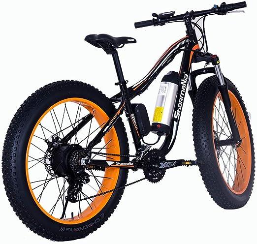 Bicicleta De Montaña Eléctrica 250W Bicicleta Eléctrica De 26 ...