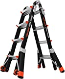 Little Giant Ladders, Dark Horse, M17, 9-15 foot, Multi-Position Ladder, Fiberglass, Type 1A, 300 lbs weight rating, (15147-001)