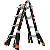 Little Giant Ladders, Dark Horse, M17, 9-15 foot, Multi-Position Ladder, Fiberglass, Type 1A, 300 lbs weight rating…