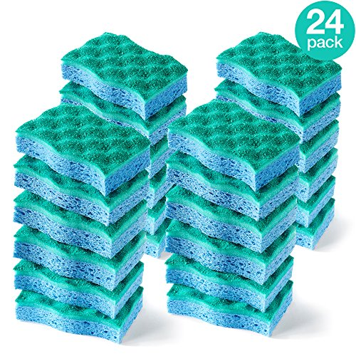 O-Cedar Multi-Use Scrunge Scrubber Sponge (Pack of 24) by O-Cedar (Image #4)
