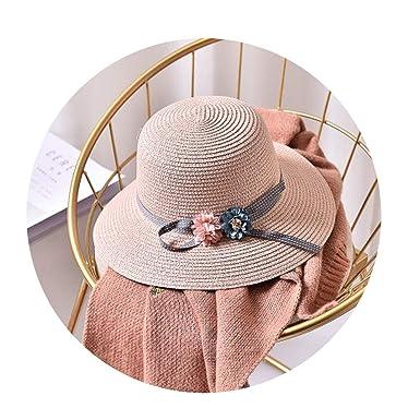 d20ea6a70 CouGoo New Two Roses Children Sun Hat Spring Summer Sunscreen Women ...