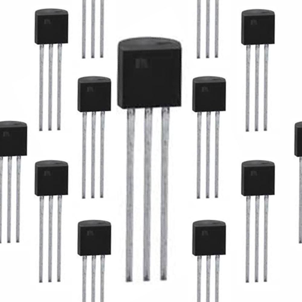 10x BC337-25 NPN Silicon Amplifier Transistor Fairchild