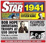 1941 Birthday Gift - 1941 Chart Hits CD and 1941 Greetings Card