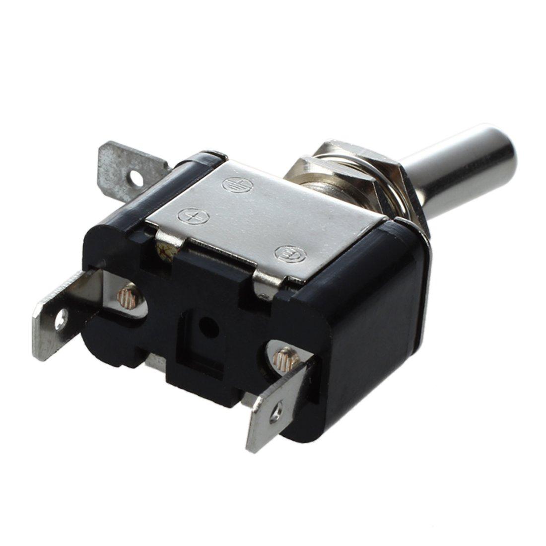 SODIAL (R)12V Interrupteur Inverseur a Bascule Levier Avec LED ON-OFF SPST Auto Voiture product image