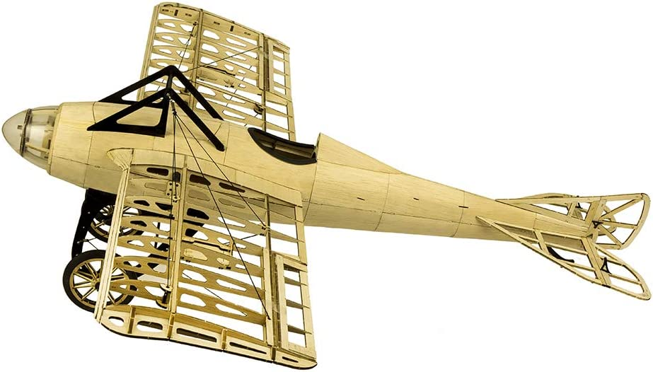 Mobiliarbus S2201 Balsaholz RC Flugzeug 1000mm Elektrisch Angetriebenes DM Deperdussin Monocoque Zerlegtes RC Flugzeug KIT Version DIY