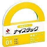 ニチバン 両面テープ ナイスタック 弱粘着タイプ 10mm×18m NW-R10
