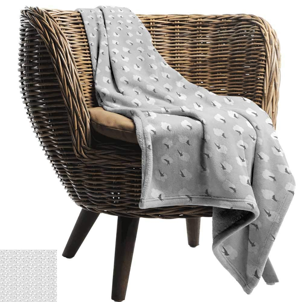 Astonishing Amazon Com Mannwarehouse Grey Home Throw Blanket Dark Theyellowbook Wood Chair Design Ideas Theyellowbookinfo