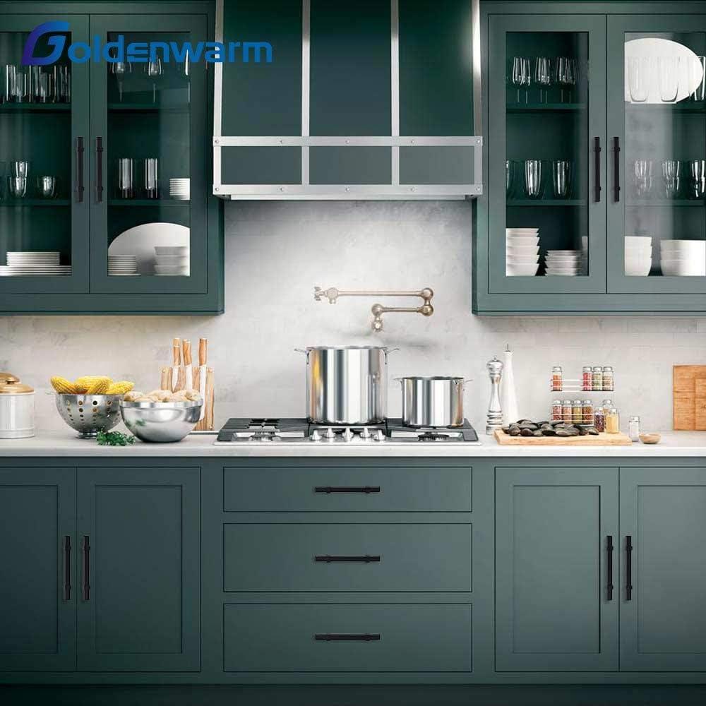 3 Cabinet Drawer Pulls Matte Black Kitchen Cupboard Handles Cabinet Handles 5 Length 3 Hole Center Kitchen Cabinet Handles Kitchen Hardware For Cabinets 15pack Hardware Tools Home Improvement Mhiberlin De