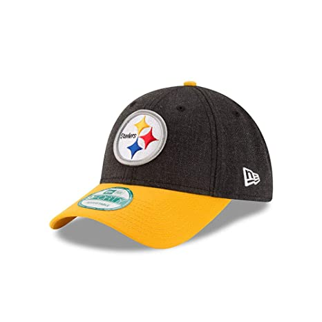 Amazon.com   New Era Pittsburgh Steelers The League Heathered Team ... 9ad350616