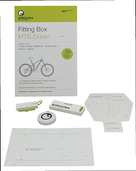 Ergon Fitting Box MTB Expert Ayuda de Ajuste de Bicicleta, Neutro, Talla única: Amazon.es: Deportes y aire libre