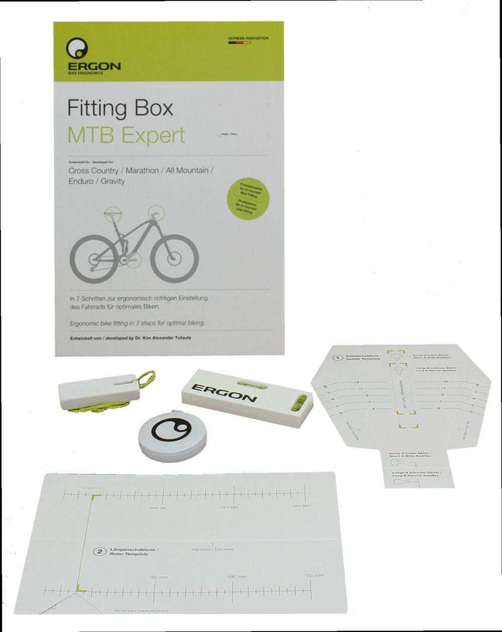 Ergon Fitting Box Bicycle MTB Expert Einstellhilfe 48100012 by Ergon