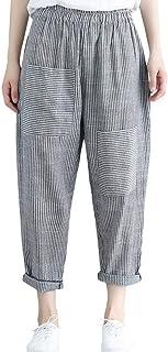 Pantalones Harem Pantalones De Pantalones Pantalon Modernas Casual Libre Tiempo Verano Tallas Grandes Moda Joven Elegantes Niña Anchos Dos Bolsillos De Pantalón Flecos