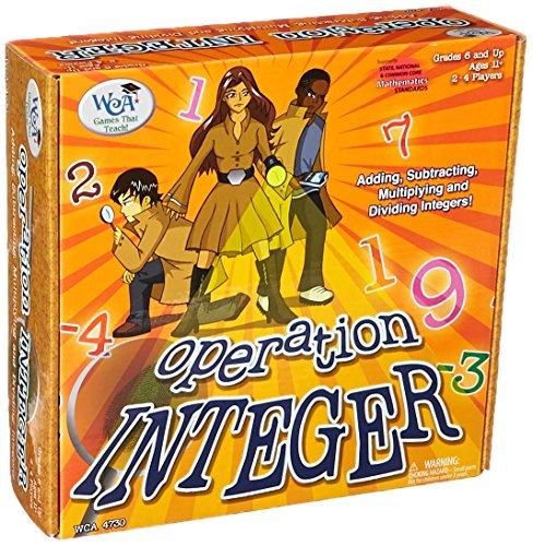 (Learning Advantage 4730 Operation Integer Game, Grade: 6, 9