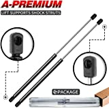 A-Premium Hood Lift Supports Shock Struts Replacement for Kia Sorento 2003-2009