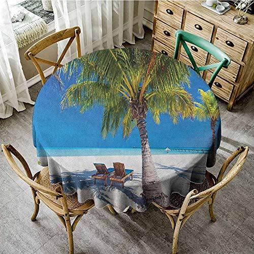 Rank-T Round Tablecloth Tuscan Theme 50