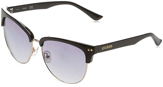 GUESS GF0283_05B, Gafas de Sol para Mujer, Negro (Nero), 60