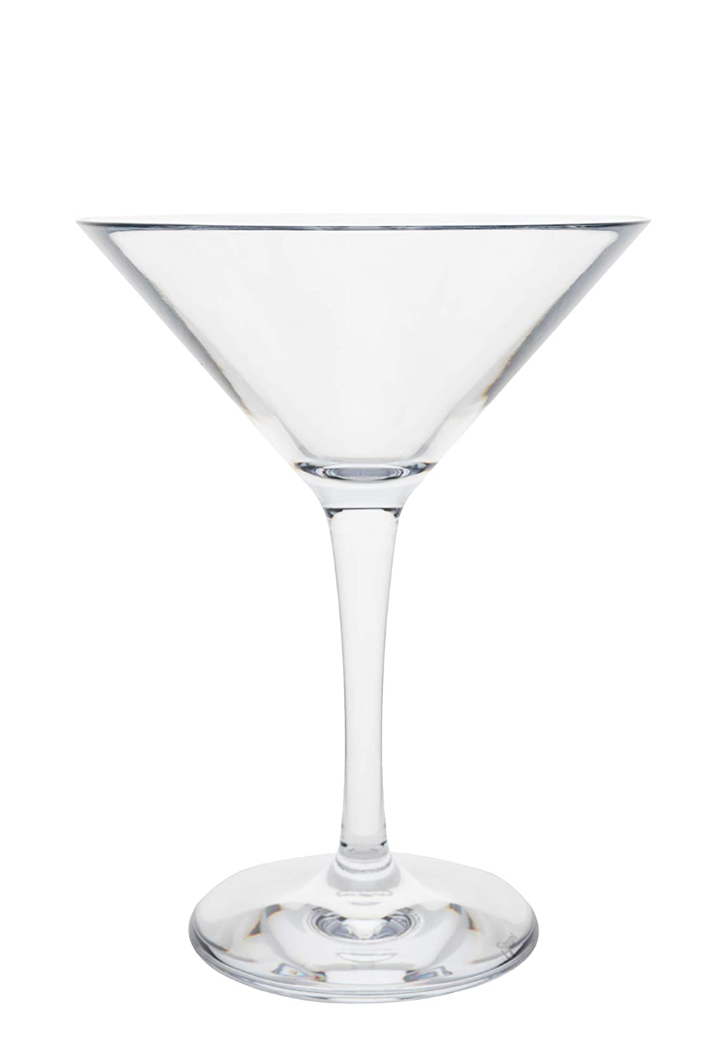 Strahl Martini Glass (Set of 4), 8 oz, Clear