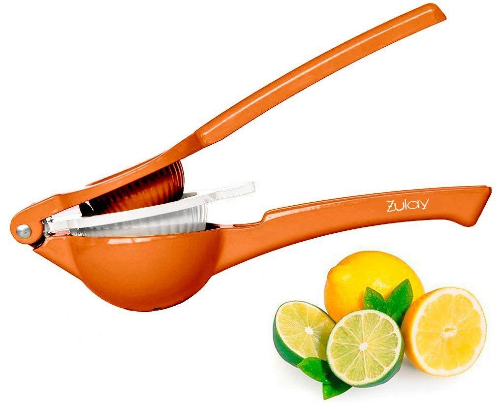 Lemon Squeezer & 2-in-1 Lime juicer Citrus Press, Cool Orange
