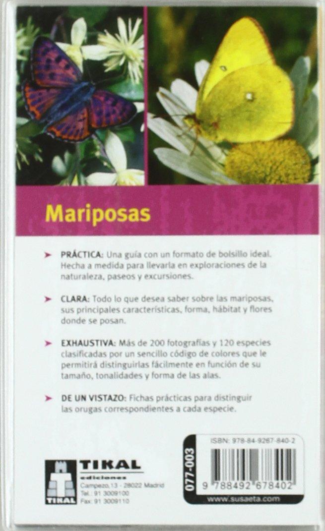 Mariposas (Miniguias De Bolsillo): Amazon.es: Aa.Vv.: Libros