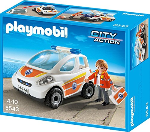 d - Emergency Vehicle (Playmobil Guard)