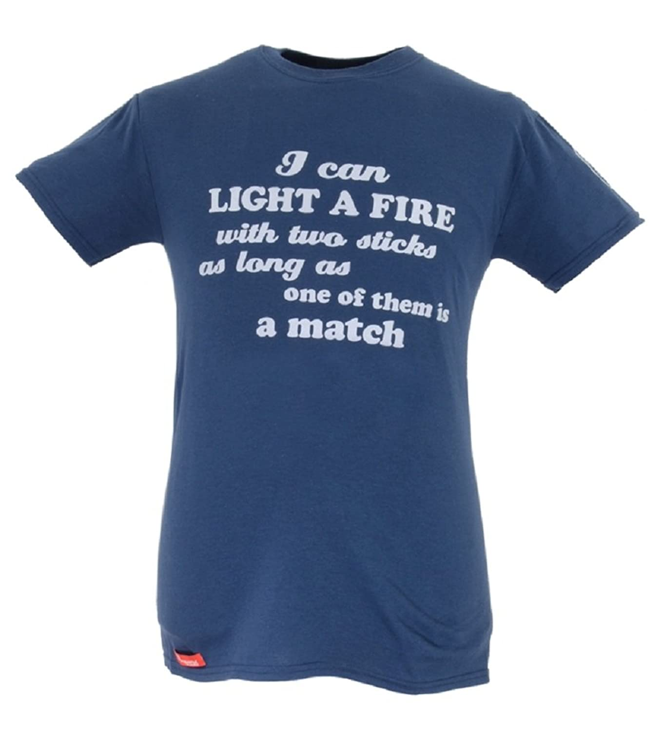 Scout Heritage 'I Can Light a Fire' Tshirt - Official Scout Clothing