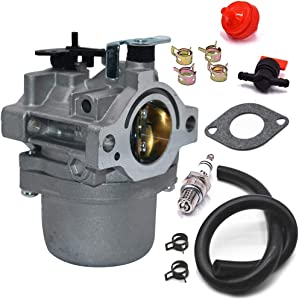 Carbman 590399 Carburetor for Briggs & Stratton 796077 Lawn Mower Engine Carb 21A707 21R707 21R777 21A907 21A977 with Gaskets