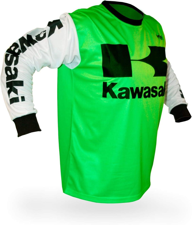 Reign VMX Kawasaki Vintage Style Motocross Jersey Size XX-Large