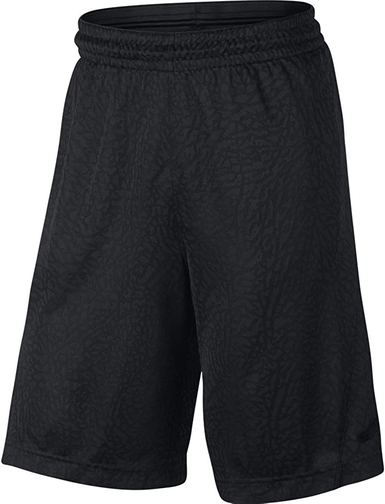 Pantalones cortos de baloncesto verticales Nike Mens Rise negros ...