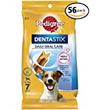 PEDIGREE DENTASTIX Small Dog Dental Treats, 56 Count