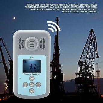 Akozon 804 Detector de amoniaco N H 3 Gris: Amazon.es: Industria, empresas y ciencia