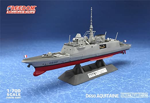 Freedom Models 1//700 D650 Aquitaine Multipurpose Frigate w//Etched Parts # 83001