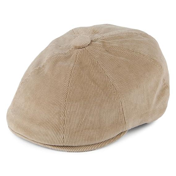 b553336e Kangol Hats Hawker Corduroy Newsboy Cap - Beige X-Large: Amazon.co ...
