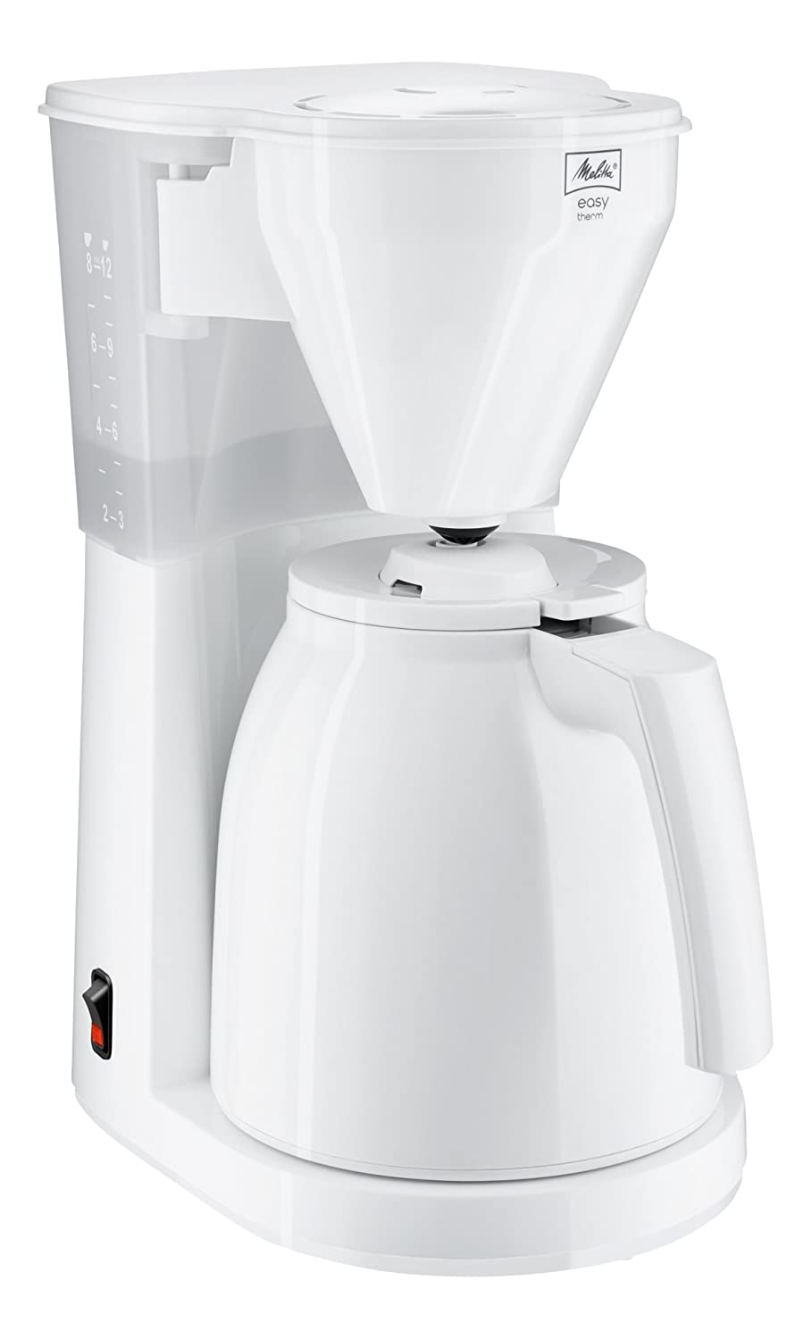 Melitta Easy Therm, 1010-06, Filter Coffee Machine with Insulated Jug, Black