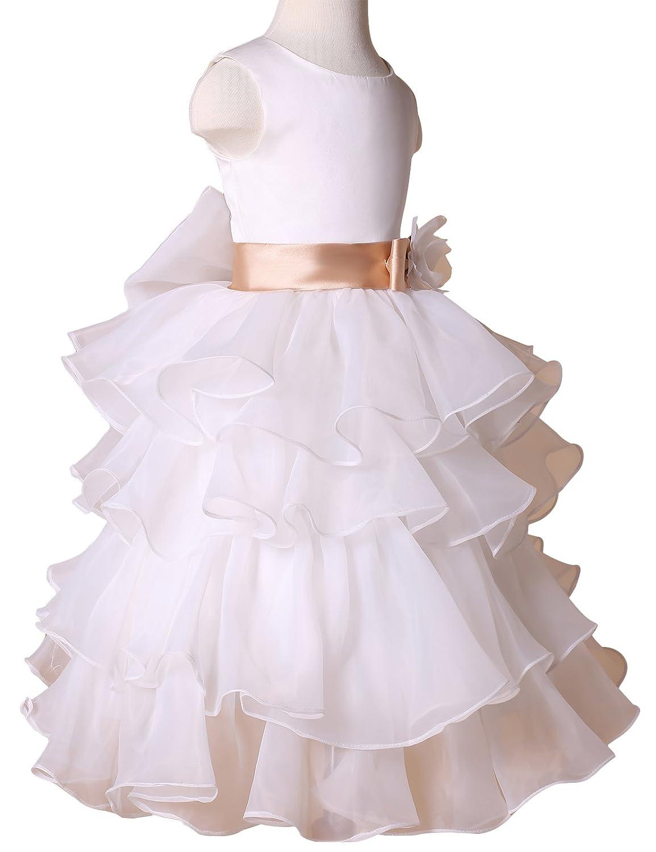 GRACE KARIN - Vestido para niñas, Color Blanco, Talla 42160: Amazon.es: Ropa y accesorios