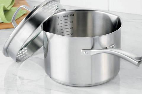 Calphalon® Classic Stainless Steel 3.5-Quart Sauce Pan - BedBathandBeyond.com