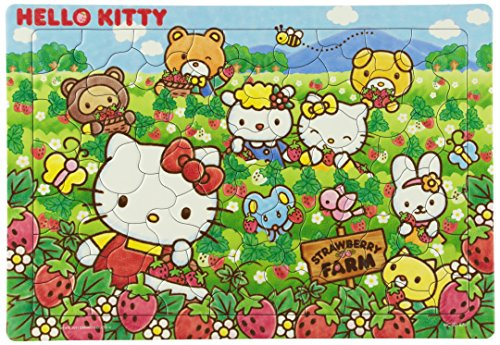 I Love Strawberries Mc-80-879 of the Child Puzzle 80 Piece Hello Kitty