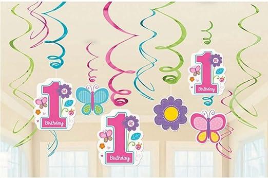 Tatuaje de pared de cumpleaños infantil 12 Dibujos decorativos ...