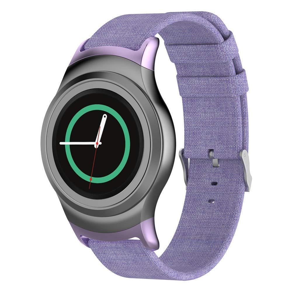 DIPOLA Correa de Reloj de Tejido para Samsung Gear S2 SM-R720 / SM ...