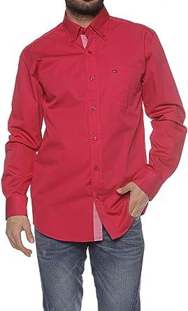 State of Art Camisa REGULAR FIT para hombre, Color: Fucsia ...